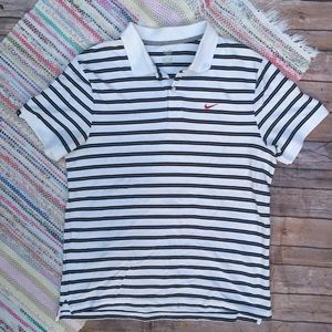 Nike Stripe Polo Short Sleeve
